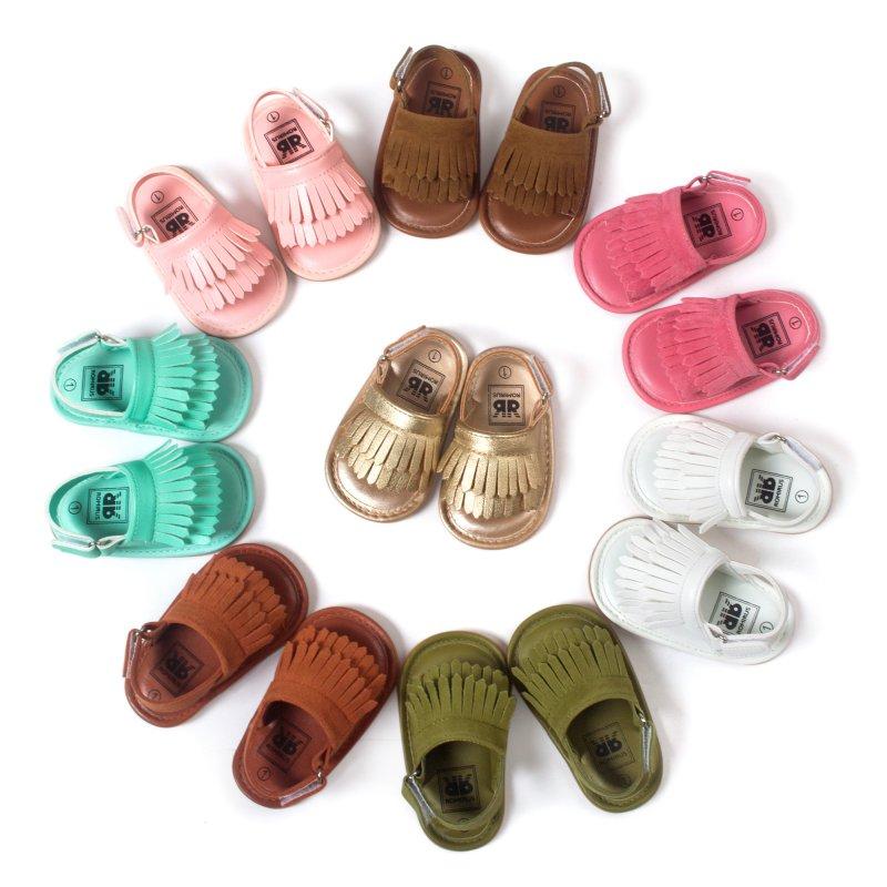 Summer Fringe Sandals